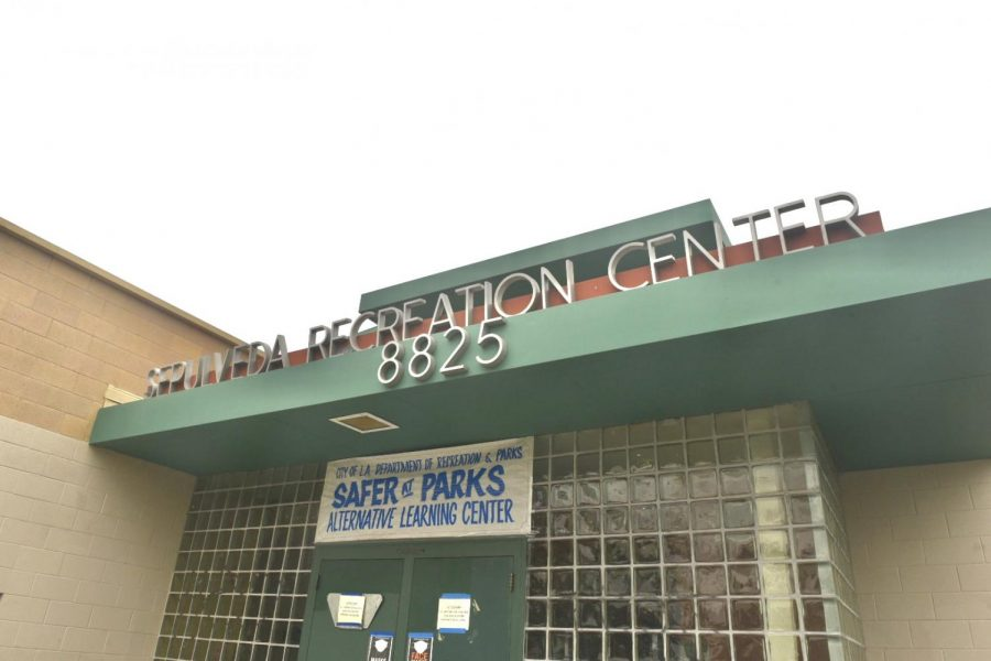 The Sepulveda Recreation Center is a learning center for LAUSD students as part of the