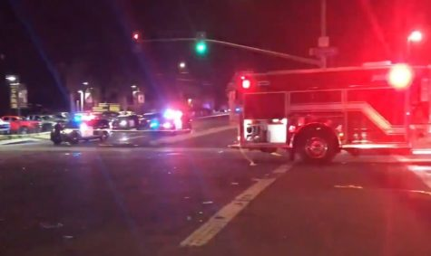 First responders attended to a five-vehicle crash that killed two and injured four others on Wednesday Sept. 9 at the corner of 70th Street and El Cajon Boulevard in San Diego.
