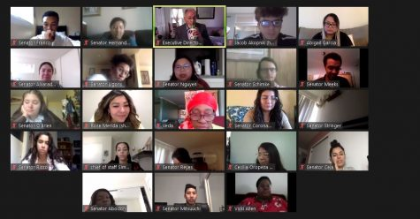 Associated Students held its weekly virtual meeting on Sept. 28.