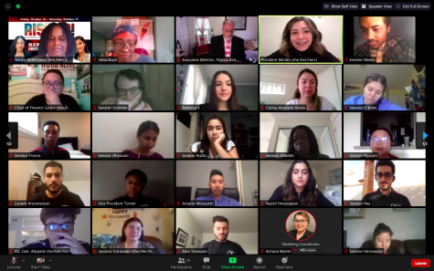Associated Students held their weekly virtual meeting on Oct. 5, 2020.