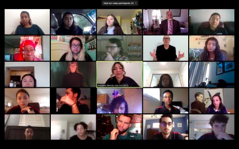 Associated Students held their weekly virtual meeting on Oct. 12, 2020.
