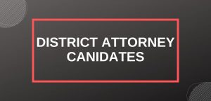 Los Angeles District Attorney candidates: Jackie Lacey and George Gascón