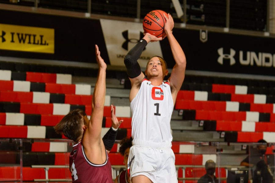 Lance Coleman II, one of five returners from last season, scored a career-high 22 points in CSUN's 97-79 win on Wednesday.
