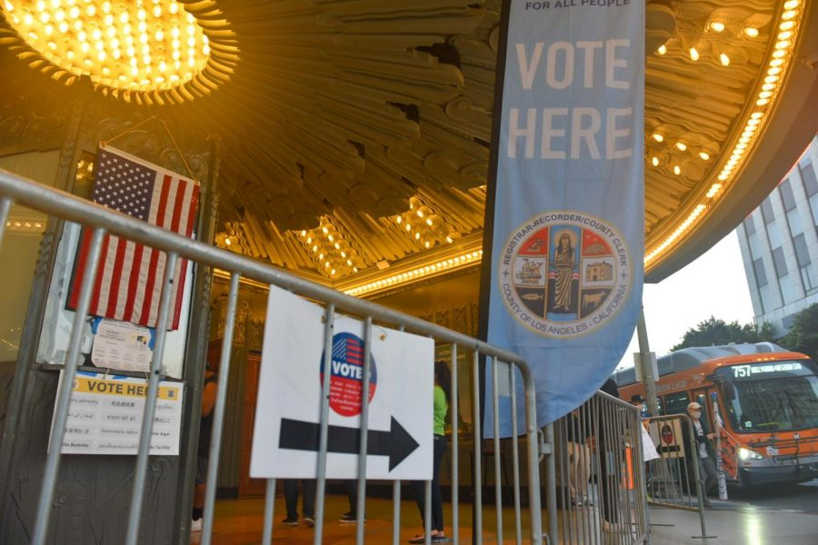 The Wiltern Theatre is an official polling location for the 2020 General Election.