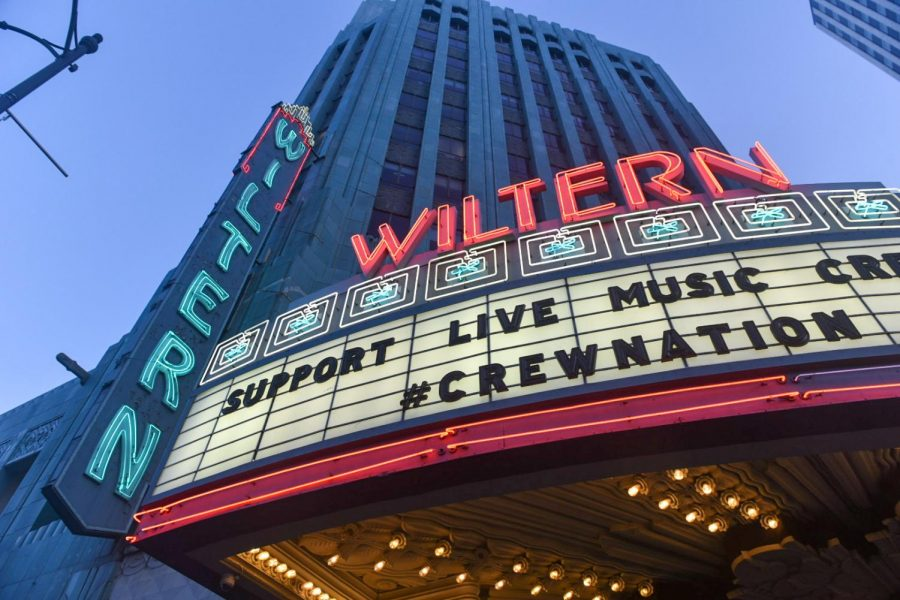 The Wiltern Theatre is one of the iconic landmarks that became a voting center in Los Angeles this year.