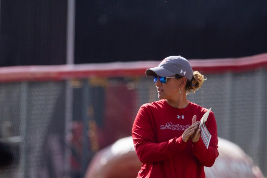 Tairia Flowers, head coach of the Matadors softball team since 2011, has resigned.