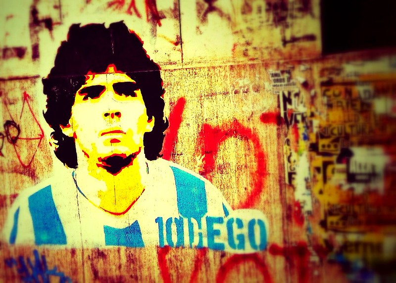 The great Maradonna died at 60 years old from a heart attack.
