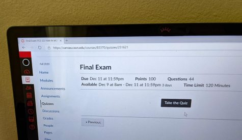 Students will be taking their finals virtually this week.
