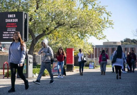 Students at California State University can look forward to at least one thing next school year: Chancellor Joseph Castro says no tuition increases. Photo by Anne Wernikoff for CalMatters