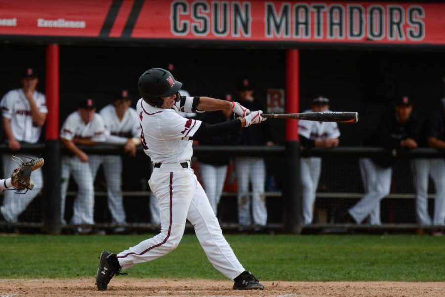 CSUN+baseball+ranked+sixth+among+11+schools+in+the+annual+Big+West+conference+preseason+coaches+poll.