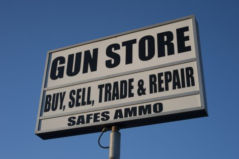 sign for a gun store