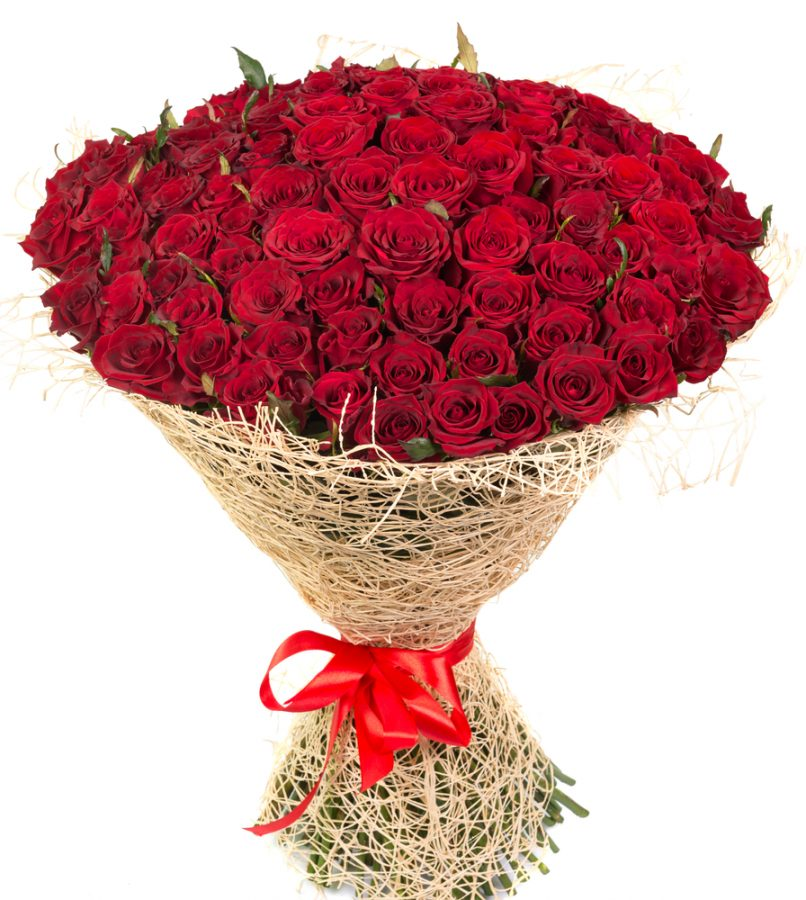 Big+bouquet+of+red+roses