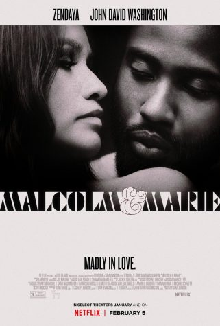 """Malcom & Marie"" official release poster"