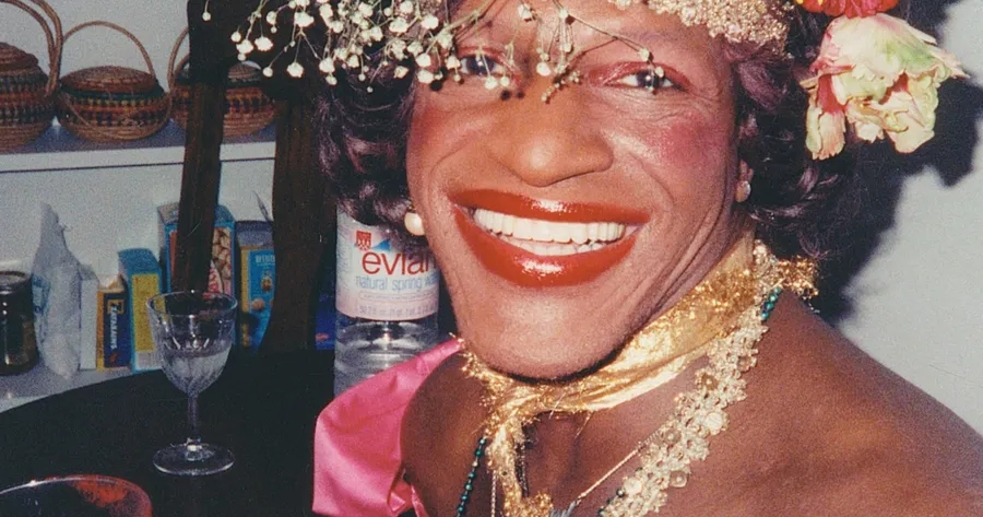 A screenshot of Marsha P. Johnson from the Netflix documentary,