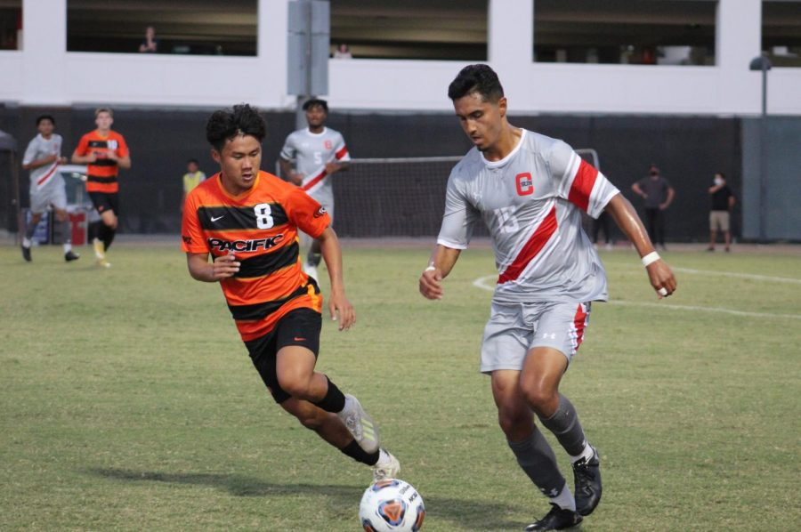 Men's soccer falls to University of Pacific in home opener