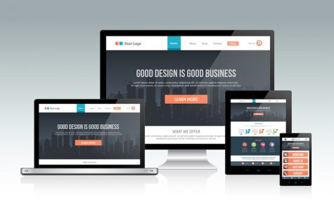 mockups of website on various devices