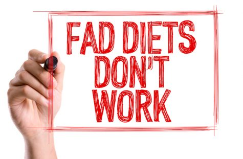 hand writing fad diets dont work