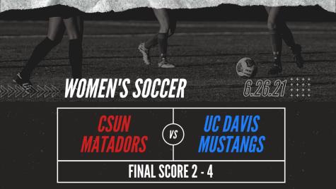 UC Davis Hands CSUN women's soccer Their First Conference Loss