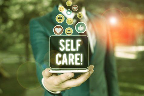 Conceptual art of self-care