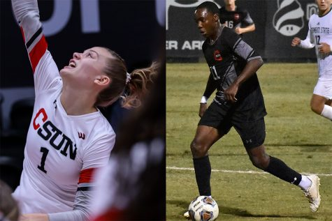 The Matadors of the Week are Taylor Orshoff from womens volleyball and Jamarr Ricketts of mens soccer.