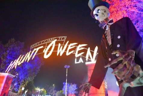 Last years Haunt o Ween event was a drive-thru attraction. It returned this year with in-person activities.