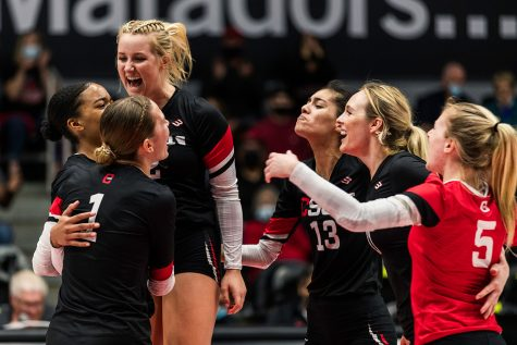 The Matadors beat the UC Davis Aggies in five sets on the road last Thursday. The win improves their record to 3-14 and 2-5 in conference play.