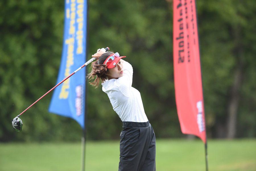 Womens golfs Tiffany Pak, the Matador of the Week of Sept. 30.