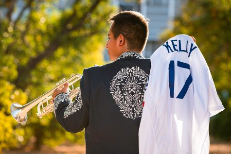 Grover Castro Tiburcio, a CSUN alumni who majored in music education, traded his original mariachi charro jacket with Dodgers relieving pitcher Joe Kelly in late June.  Kelly later wore the charro jacket when the Dodgers visited the White House the following week to commemorate their 2020 World Series Championship win.