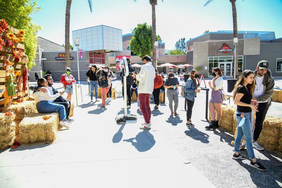 Pumpkin Fest at CSUNs Plaza Del Sol  in Northridge, Calif. on Tuesday, Oct. 12, 2021.